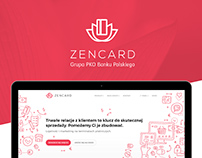 ZenCard Website