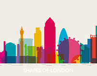 SHAPES OF LONDON CHRONOLOGICAL