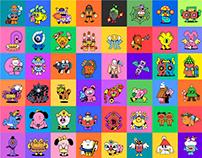 野狗富贵 99 little monsters