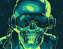 Megadeth Dystopia Tour Poster