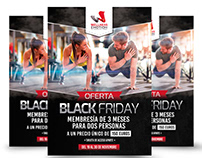 Flyer para Wellness Emotion Gym