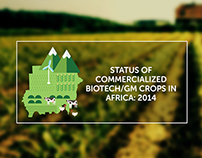 Status of Commercialized GM Crops in Africa: 2014