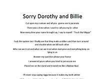 Sorry Dorothy and Billie (Lyric)