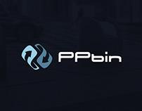 PPbin - logo design & rebranding 2015