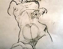 """""""d'après Schiele"""", since 2010"""