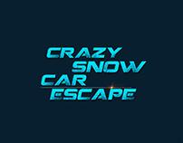 Crazy snow car escape