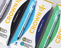 "Rebranding of stationery ""Crown"""