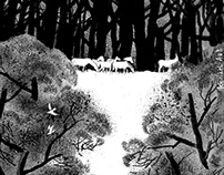 illustrations to poems by Anna Akhmatova