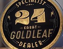 24 karat Goldleaf dealer