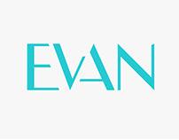 Identidad corporativa EVAN