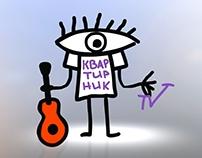 Intro for music show KVARTIRNIK TV