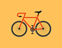 Bicycle illustrations