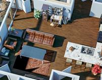 3D Floor Plans - Bear Properties