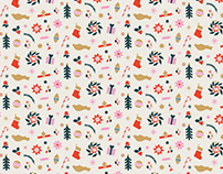 Holiday Pop pattern design