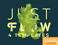 Just Flow - 4 FREE PSD Templates