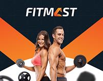 Fitmast Logo Design