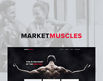Market Muscles Website