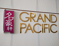 Grand Pacific Event Hall Logo Design