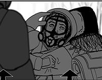 Storyboard portfolio (2017).