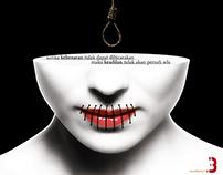 Poster Keberanan = Keadilan