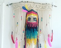 Sculptural Macrame Project