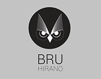 BRU HIRANO - Logo pessoal