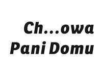 Ch...owa Pani Domu, ZNAK, Literanova, 2016