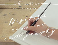Digitize your own Calligraphy- Online Skillshare Class
