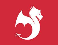 Bleed Creative Logo Design