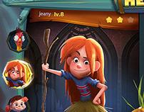 JACK UIUX SHARE-gui art design 创意 广告 交互设计 游戏界面