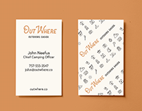OutWhere Startup Branding