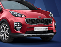 Kia Sportage promo website