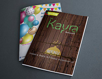 Kayra Restaurant Menu