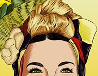 Wannabe Carmen Miranda