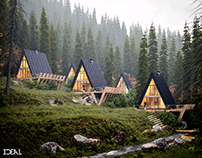 Cabins for Single family- 9/50