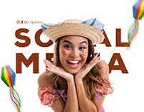 Social Media - Arraiá - Festa Junina - Julho 2021