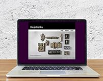 Fine artist website design