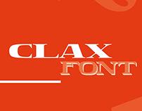 Hyperfuente - Clax Font