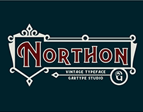 Northon Font and Ornament - FREE SERIF FONT