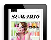 REVLON - Digital Magazine