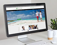 Website for a cooperative bank