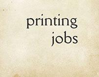 printing (vol I)