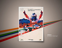 Mahindra Racing Poster Art