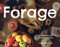 Forage Magazine Layout