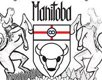 Sketchbook - Manitoba Coat of Arms