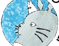 Studio Ghibli - 30 anos - Ilustrações