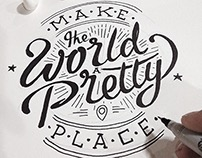 My Hand Lettering 2014