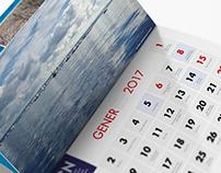 Calendario 2017 para el CNA