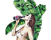 girl tropic