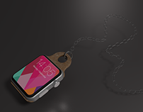Apple watch retro chain